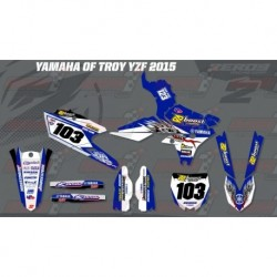 Kit décoration Yamaha Race Team Graphic Kit - Yamaha of Troy