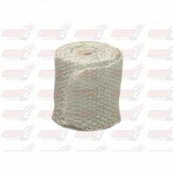 Bande thermique de collecteur Acousta-Fil 550 °C blanc - dimensions : 50mm x 7,5m