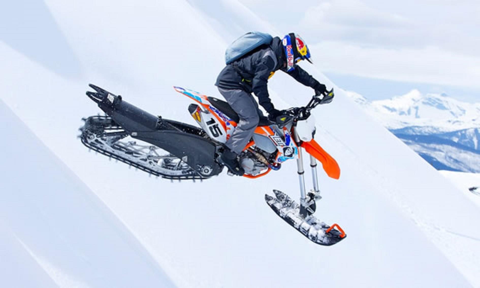 One-Racing : Kit de conversion snowbike Camso DTS 129 pour moto tout-terrain